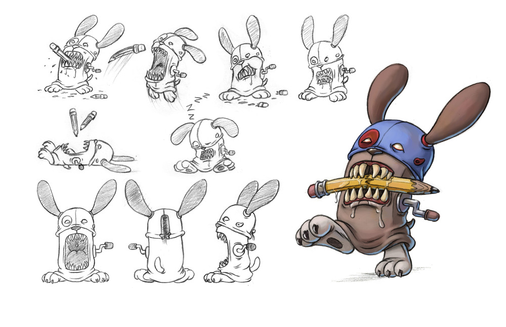 Sharpy Character Design