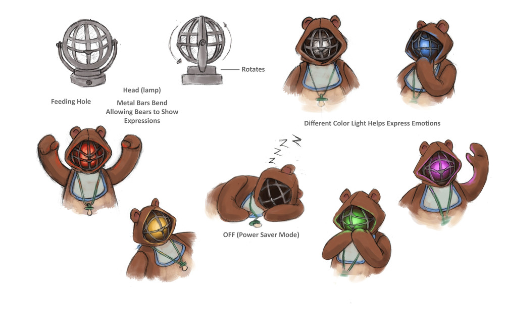 Baby Bear Expressions