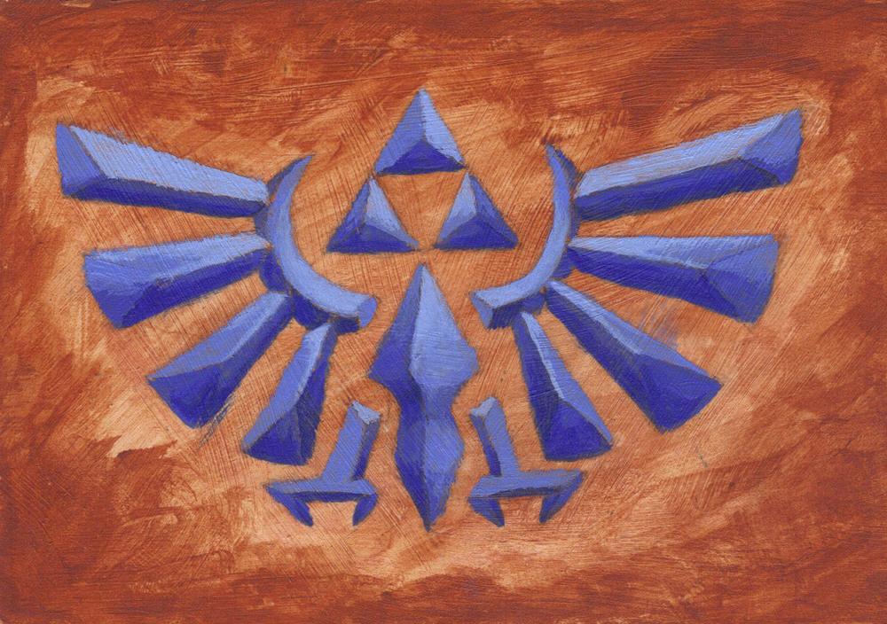Legend of Zelda: Triforce Fan Art