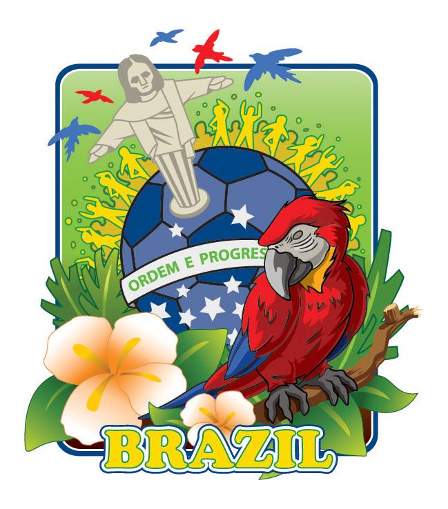 Brazil Travel Sticker