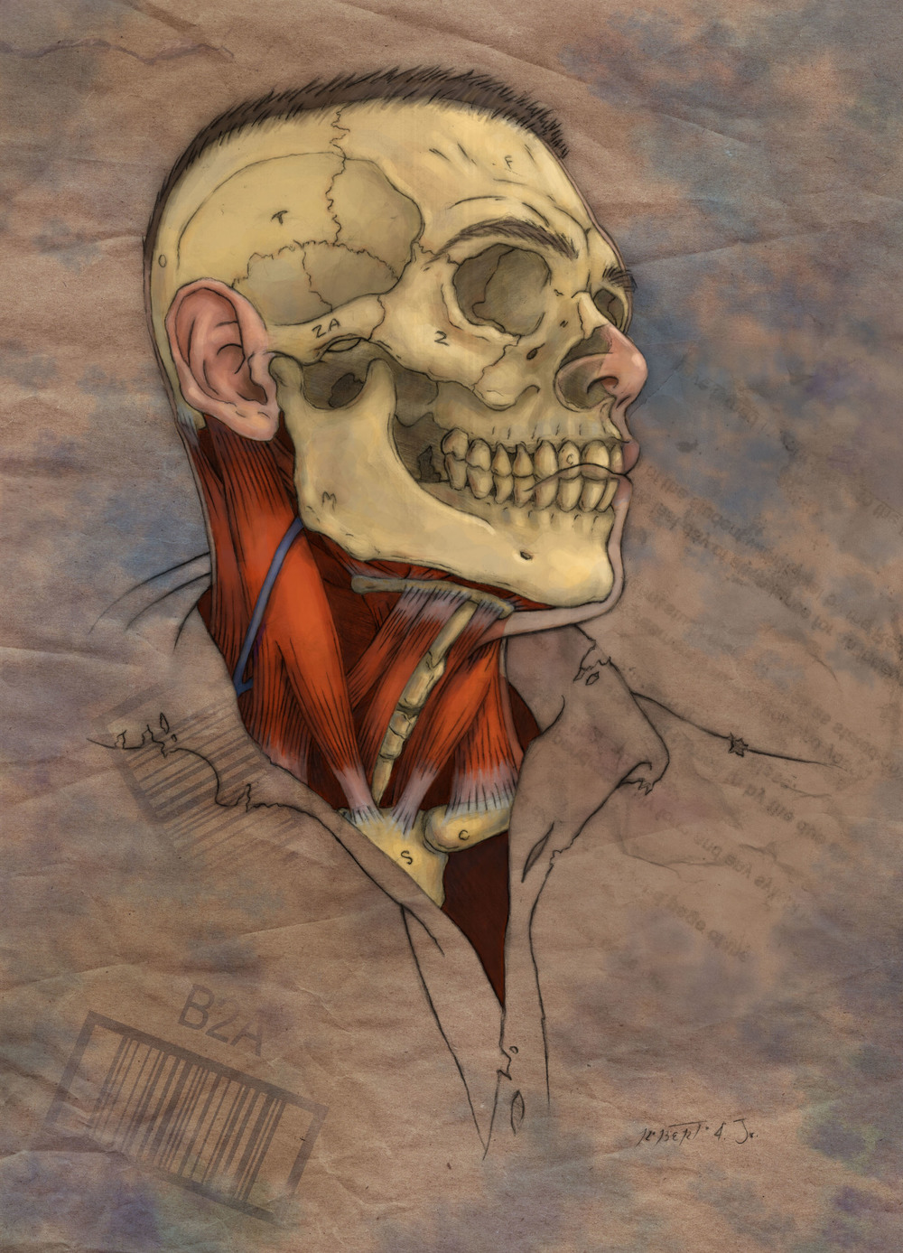 Anatomical Self-Protrait