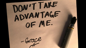 Image result for dont take advantage of grace