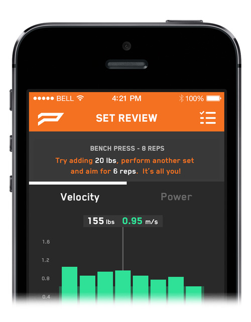 push strength tracker now available to gym goers everywhere techvibes