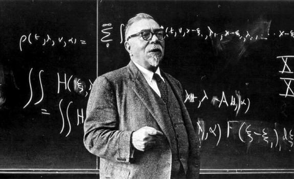 Norbert Wiener (http://writingball.blogspot.com)