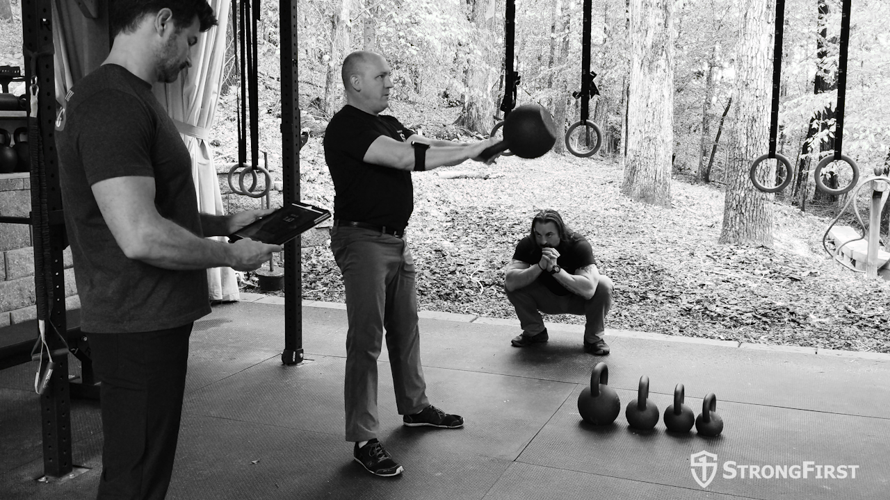 Getting the most out of your Kettlebell Swing // PUSH // The