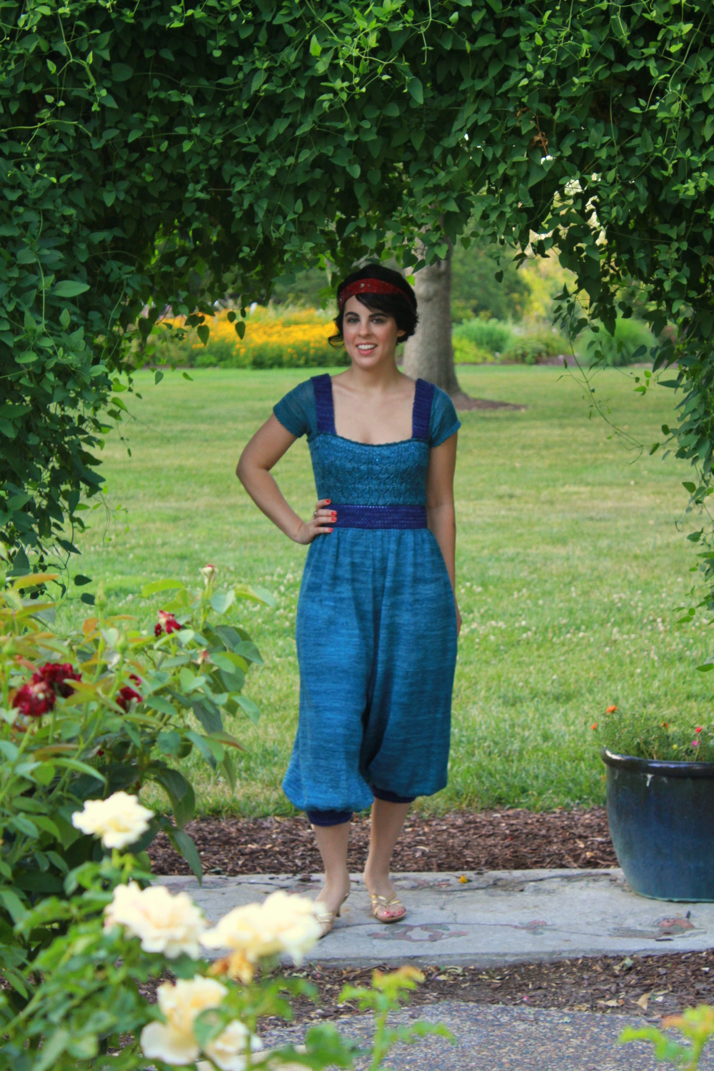 The Downton Abbey-inspired Lady Sybil jumpsuit.