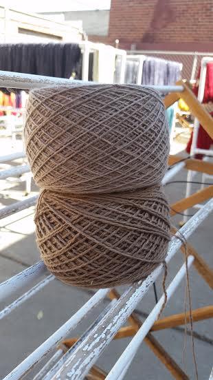 My yarn is ready!