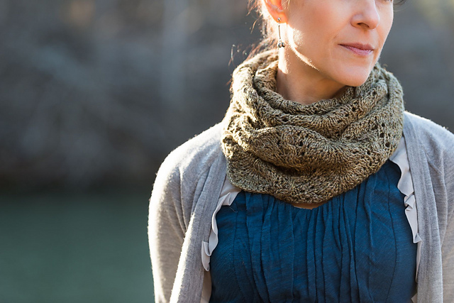 Walden Cowl by Wood House Knits.