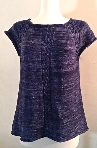 Tressage by Vera Sanon, shown in Navy.