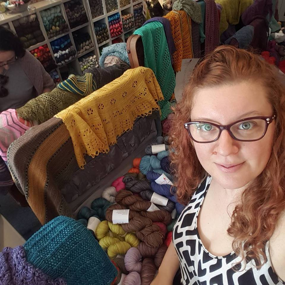 January 20: The Trunk Show Madness contnued at Jennifer Knits