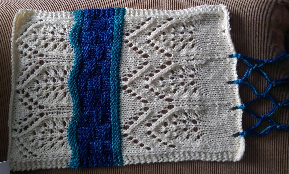 Pattern Spotlight: Mediterranean Seas Lap Blanket by Kalliopi Aronis ...