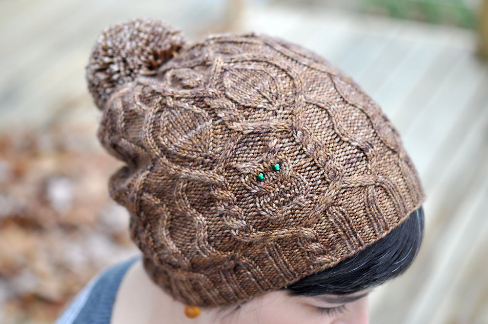Owl In the Thicket Hat by Sara Burch