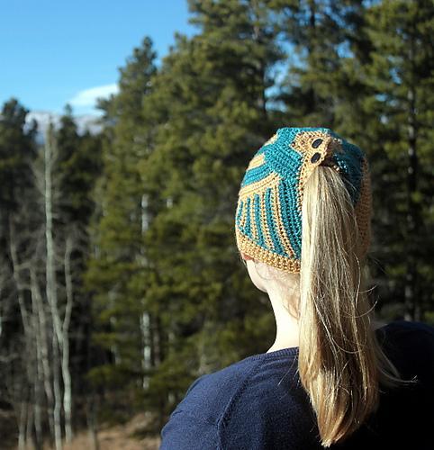 Tectonic Hat by Benjamin Krudwig (There's a knit version too!)
