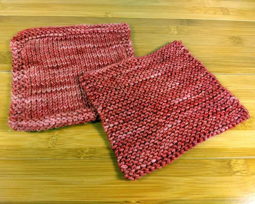 Lucero Swatches, knit