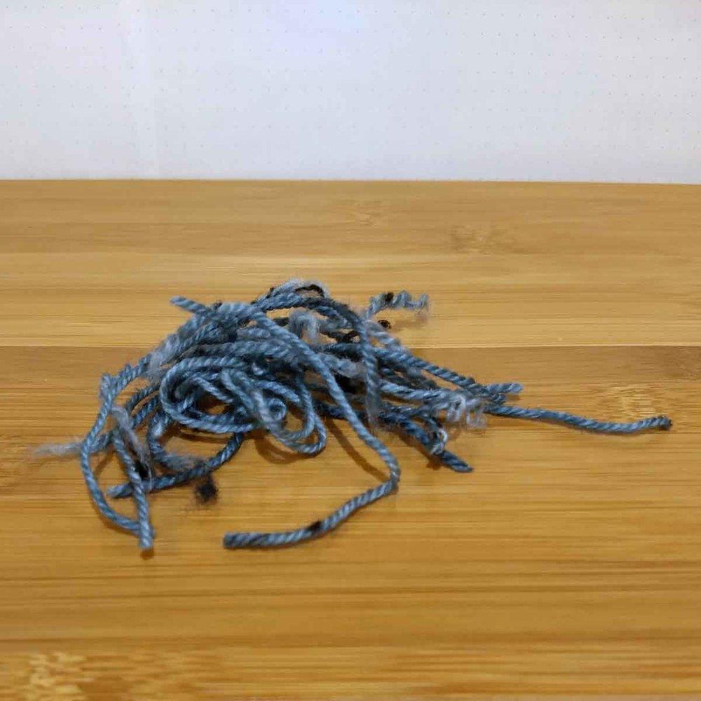 Dottie, yarn ends
