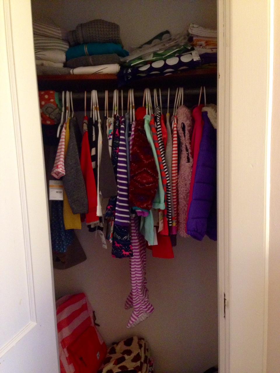 K's closet (my weakness!)
