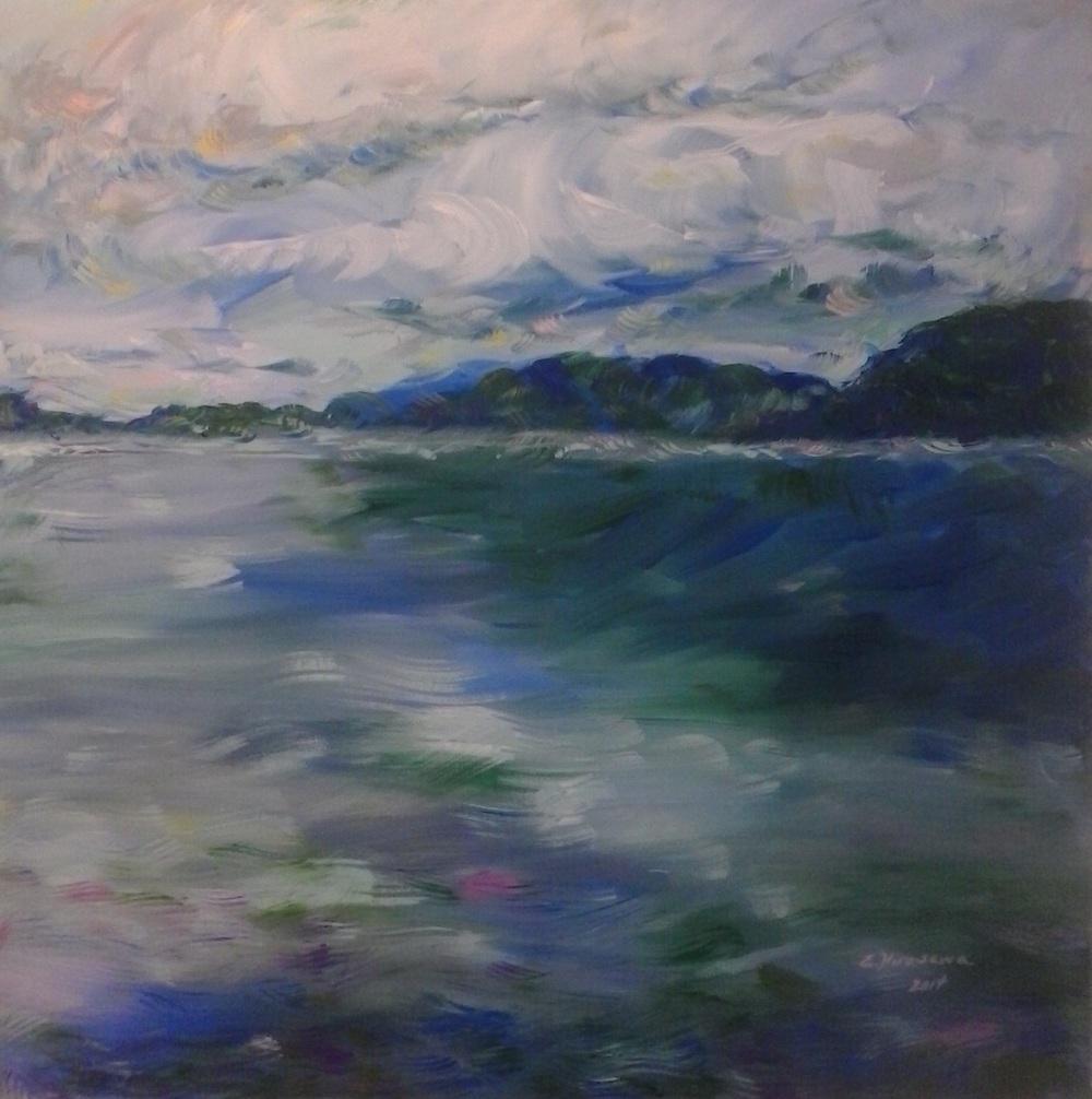 Cobalt Waters byEvan Hirasawa