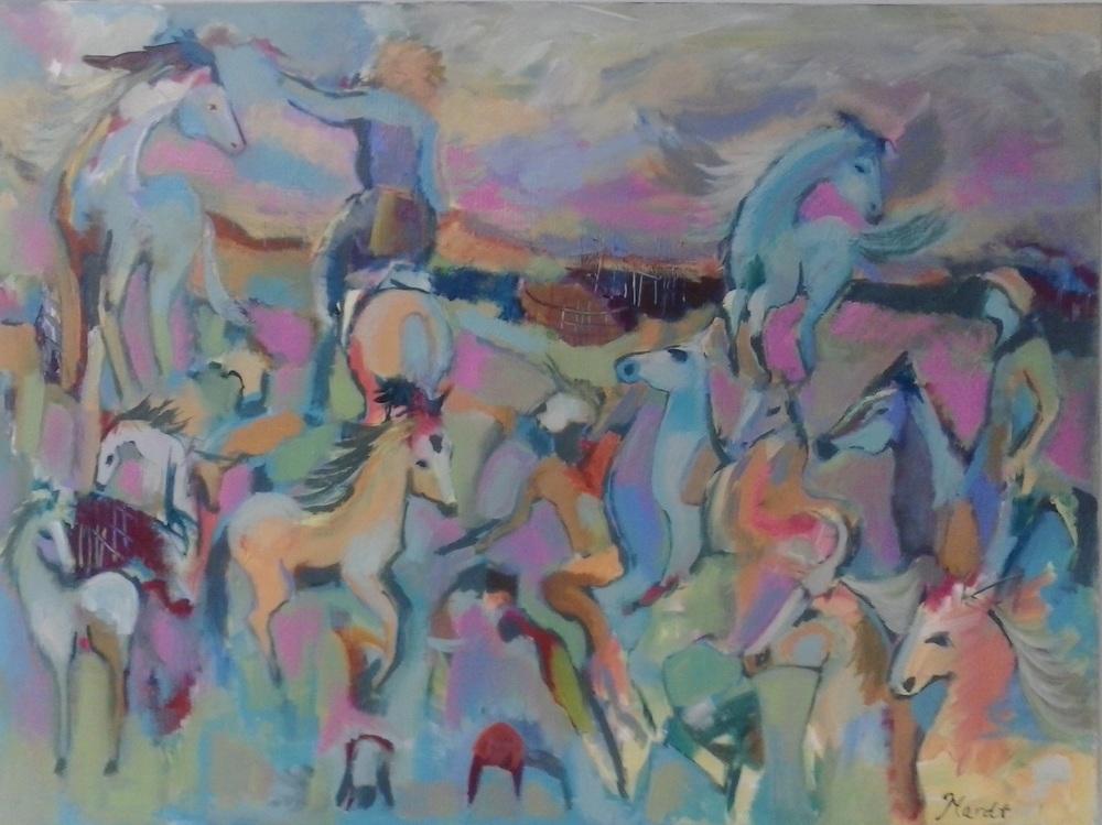 Horses by Chrystal Hardt