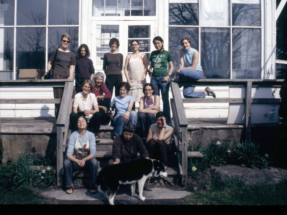 Book arts residency, Women's Studio Workshop staff and interns, 2006