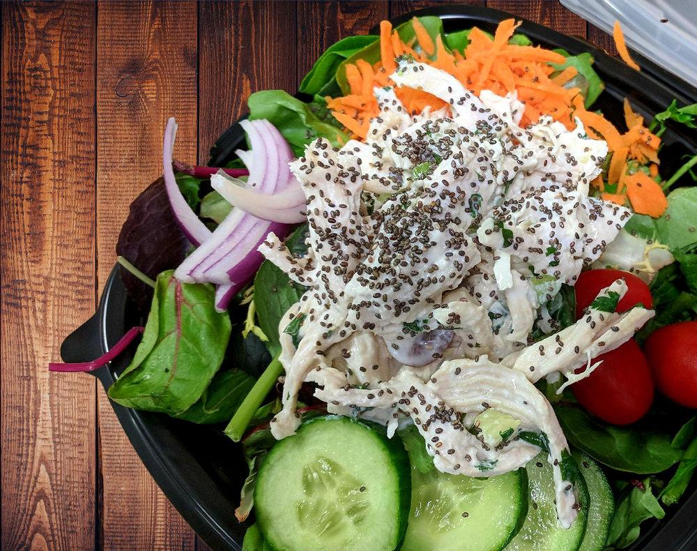 Lemon Cilantro Chicken Salad