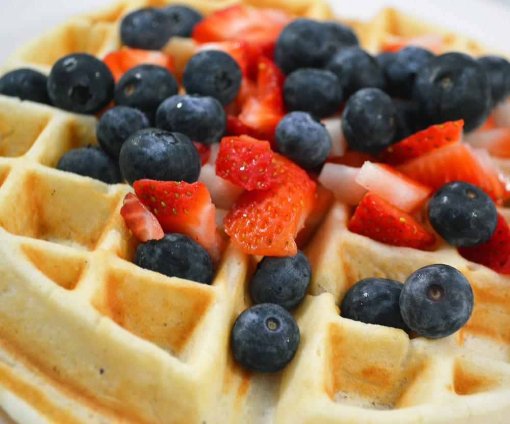 Kid's Fruit Waffle