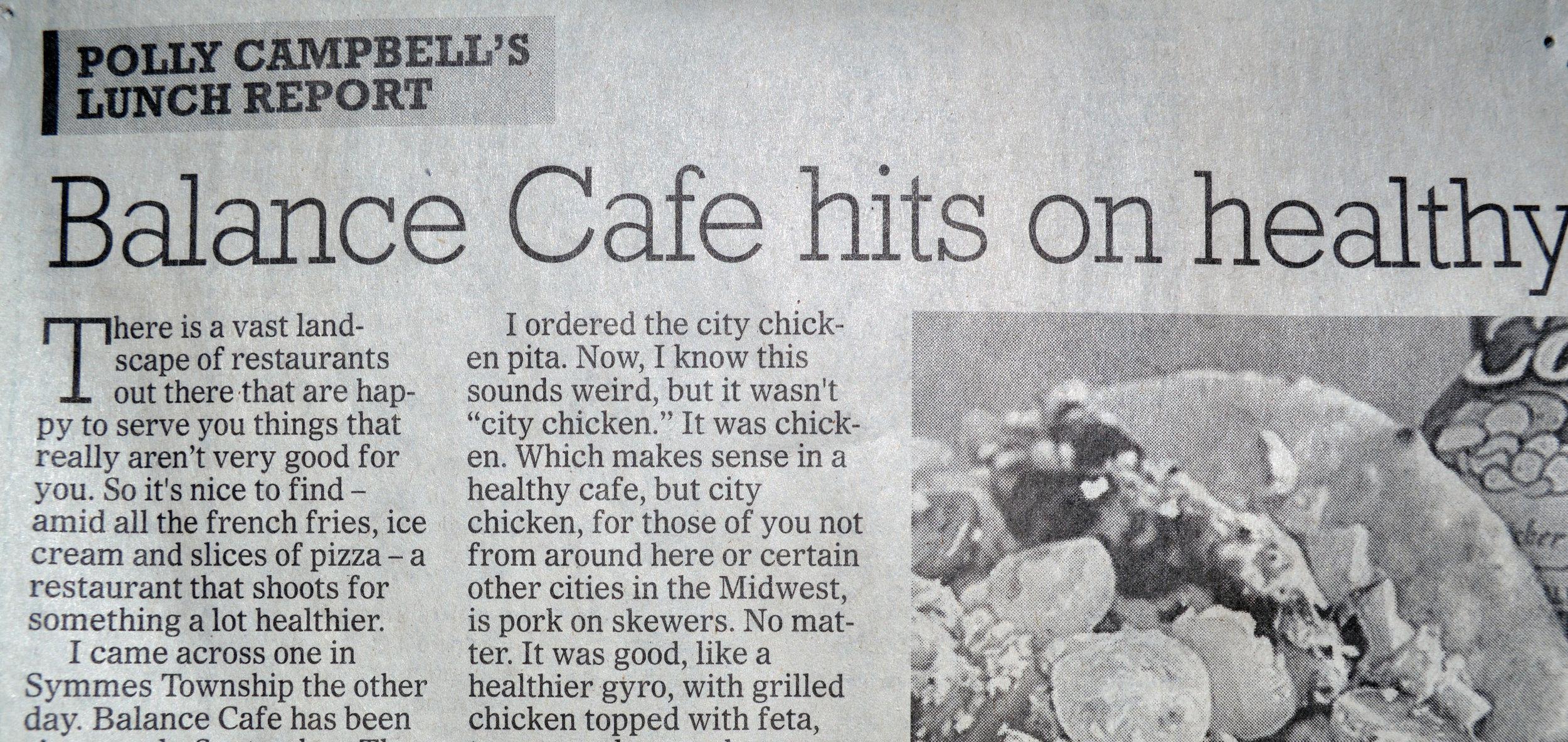 2cac9d5df0 Eats ReinventedBalance Café & Smoothies