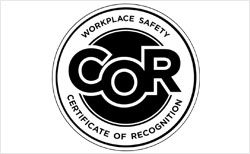 COR Workplace Safety Certificate of Recognition