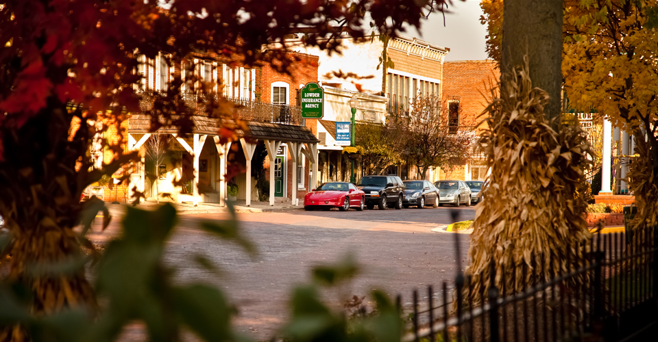 A look at Downtown Zionsville courtesy of the Brick Street Inn