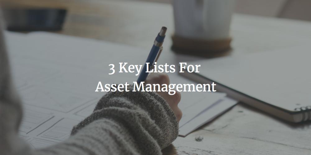 Schooley Law Firm | 3 Key Asset Management Lists | richmond VA.png