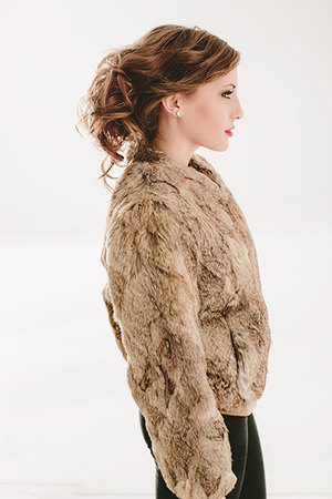 BlogVintage 60s 70s Designer Dino Ricco Sheared Genuine Rabbit Fur ...