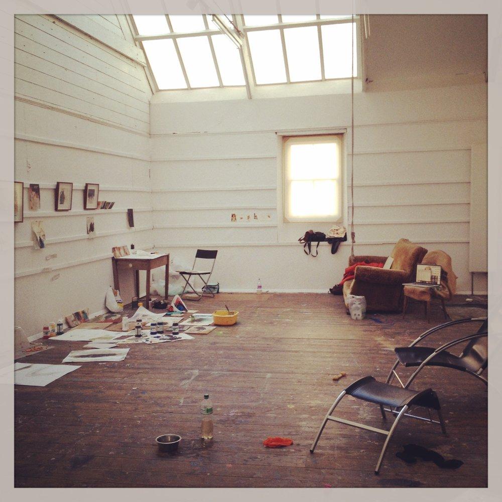 A Week At Studio no.5, Porthmeor Studios