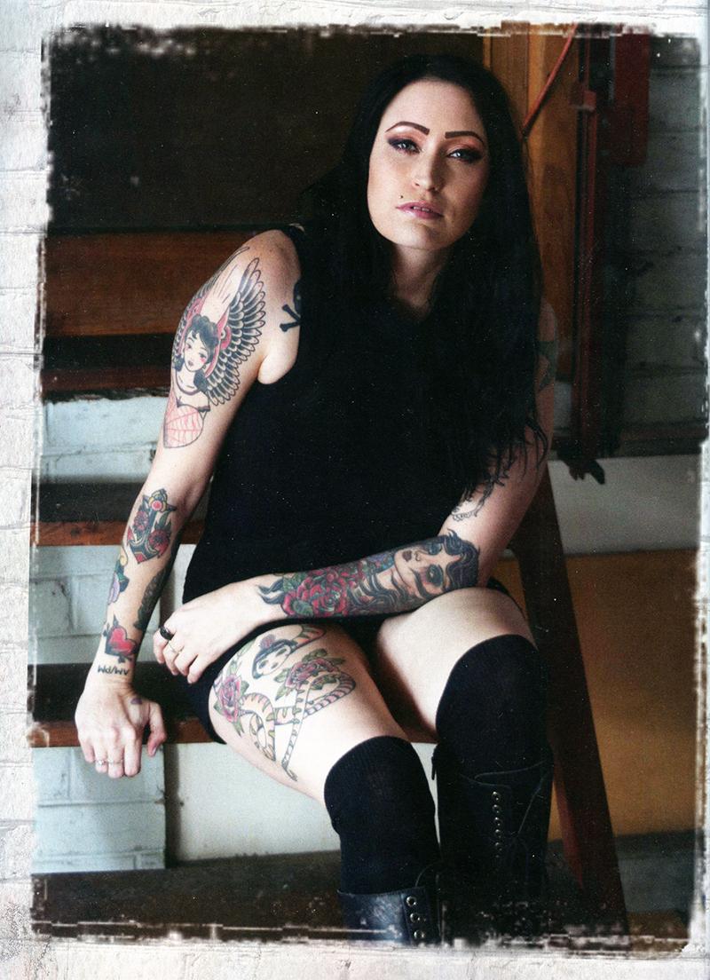Renee in Inked magazine