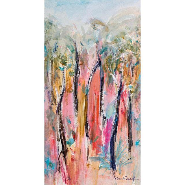 TRUE COLOURS Acrylic // 23 x 47 cm nealejoseph.com  #art #artist #artistoninstagram #artgallery #acrylicpainting #acrylicpaint #painting #nealejoseph #landscape #contemporaryart