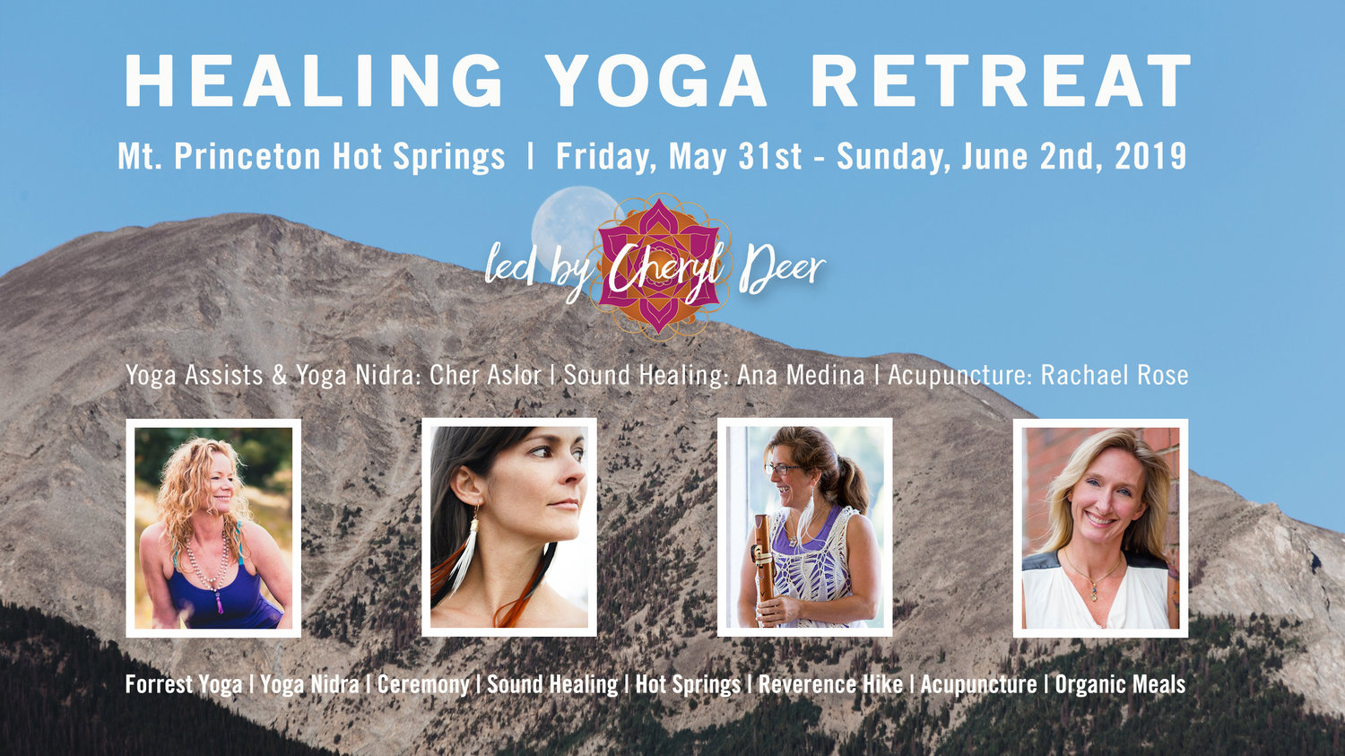 A Yoga Retreat For Healing And Connection Cheryl Deer Yoga