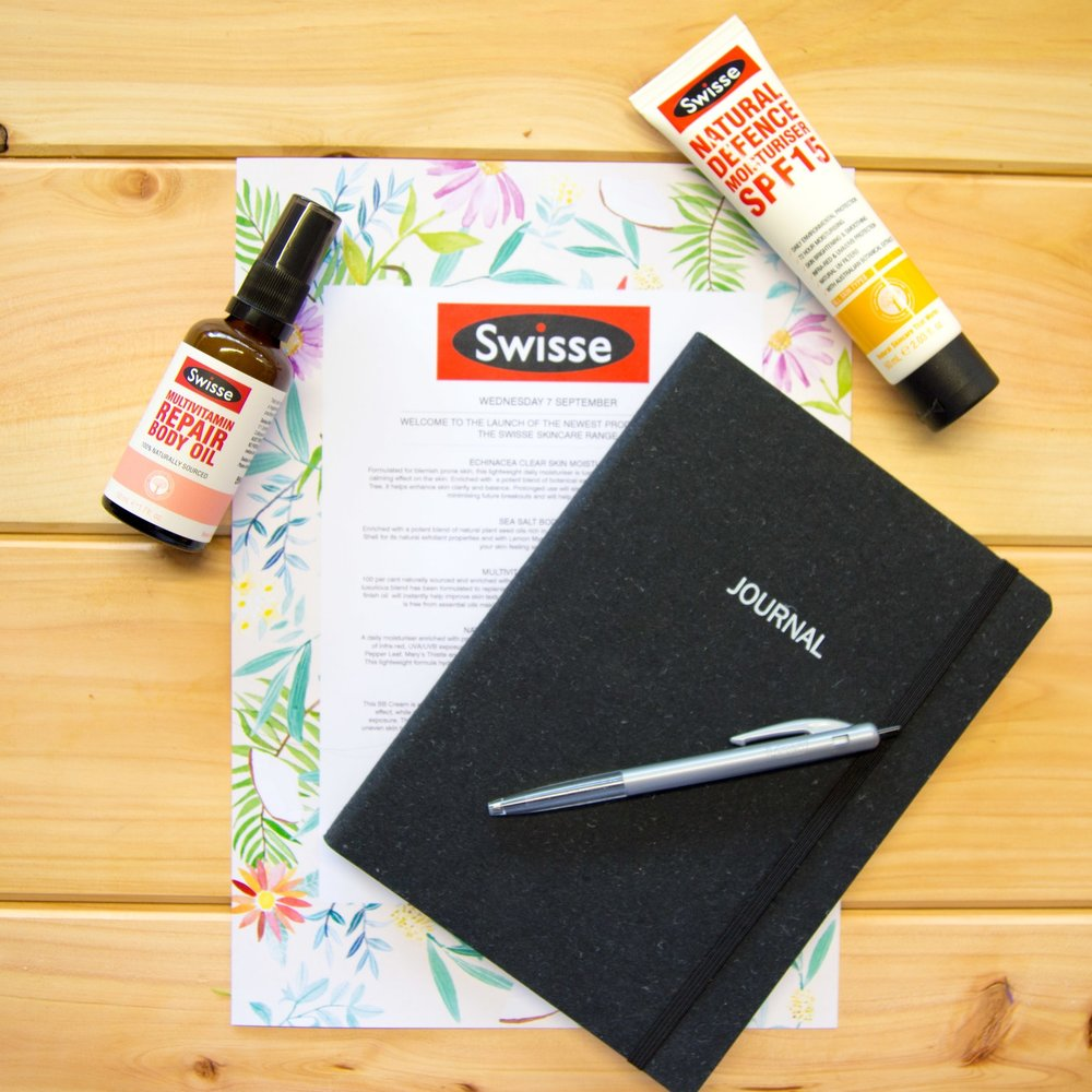 SWISSE SKINCARE LAUNCH