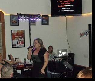 Ed's Crossroads karaoke