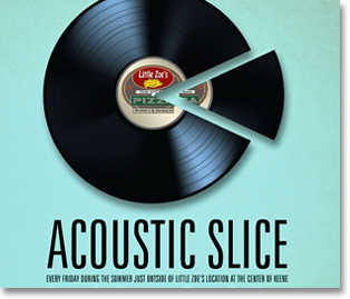 Little Zoe's Acoustic Slice logo