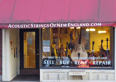acoustic strings new england