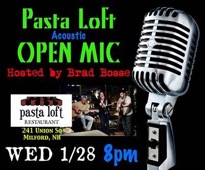 Pasta loft open mic