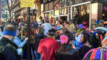 Wild Bohemian Mardi Gras Parade 2013