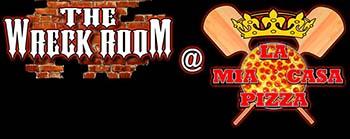 Wreck room logo for blog