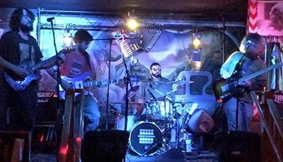 ghost dinner band February blog