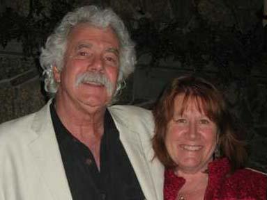 Deb McWethy and Tom Rush