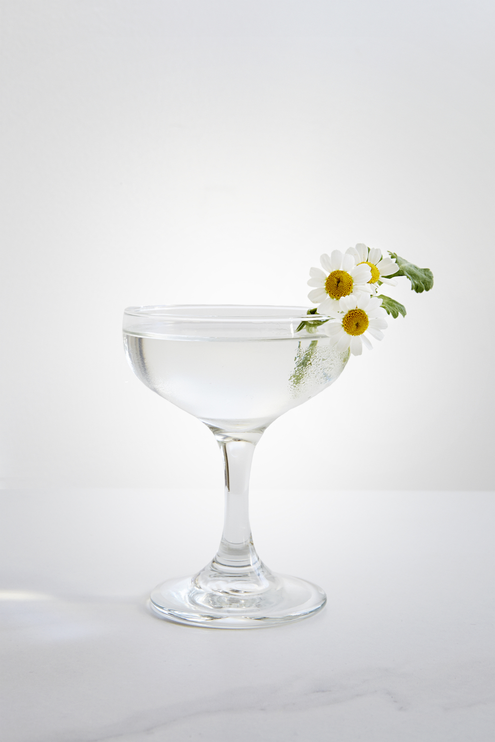 MARY ASTOR 2 oz Gin 3/4 oz Chareau 1/2 oz Lillet Blanc Stir ingredients over ice. Strain into coupe and garnish with edible flowers. Cocktail by Pablo Moix
