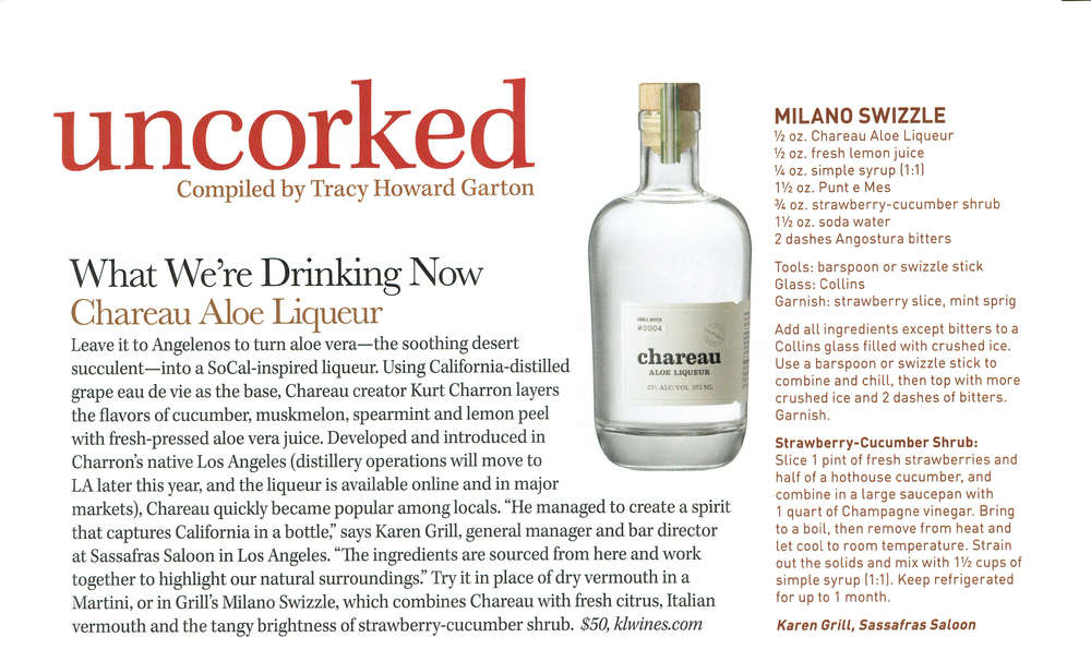 IMBIBE MAGAZINE March 2015