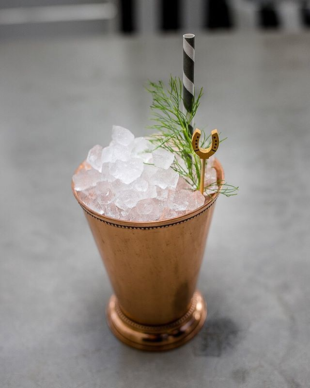"Erin Ashford - ""Unknown Legend"" : Blanco Tequila, Chareau, muddeled sage & lemons, honey"