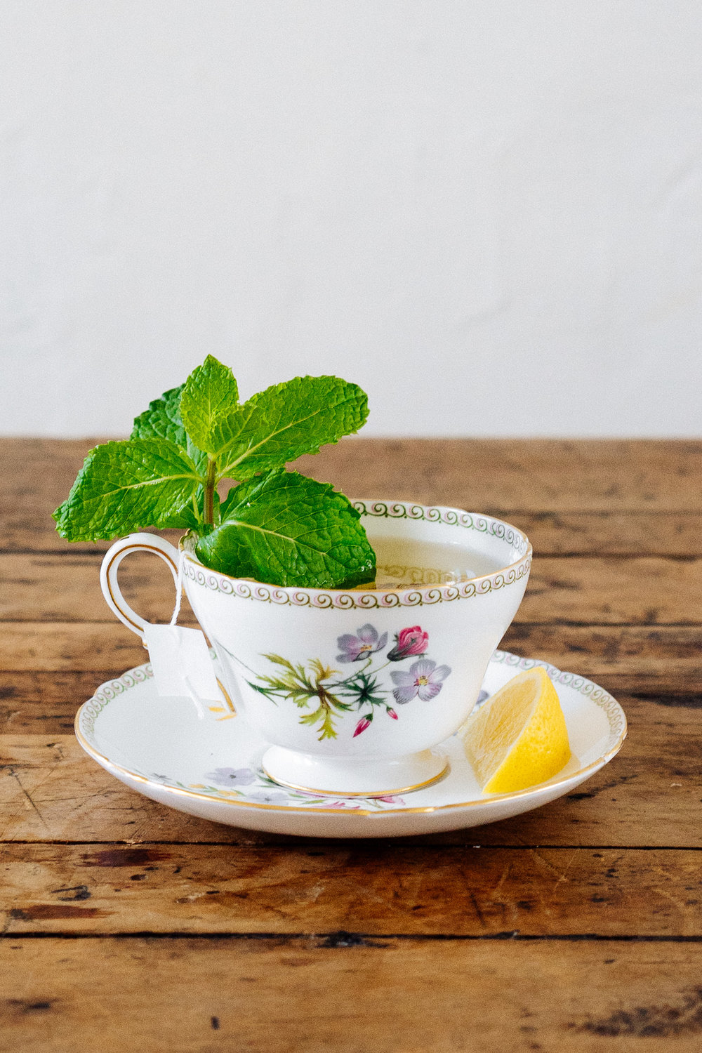 HOT TODDY   1 1/2 oz Chareau  1/4 oz Honey  1/4 oz Lemon Juice  1 Tea Bag (green tea or mint)  Add Chareau, honey, and lemon juice to cup of hot tea. Garnish with a lemon wedge and fresh mint.