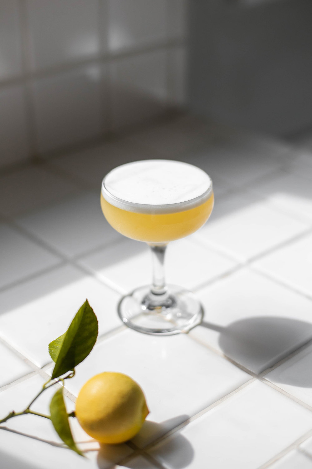 Above Tree Line - 1oz Ransom Old Tom1/2oz Chareau1/2oz Gran Classico1 Lemon1/2oz Rosemary Syrup1 Dash Angostura1 Egg WhiteDry shake then shake with ice, and strain into coupe. Express lemon peel over top and discard.Rosemary Syrup:2 Cups Sugar1 Cup Water5 Sprigs RosemaryBring water to simmer over medium heat. Add 5 sprigs rosemary and dissolve sugar. Once dissolved, remove from heat and steep rosemary until cooled to room temp. Strain syrup through a Chinois.