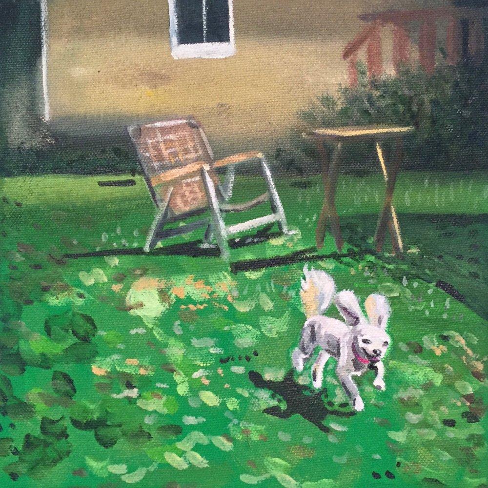 8 x 8  Acrylic on Canvas