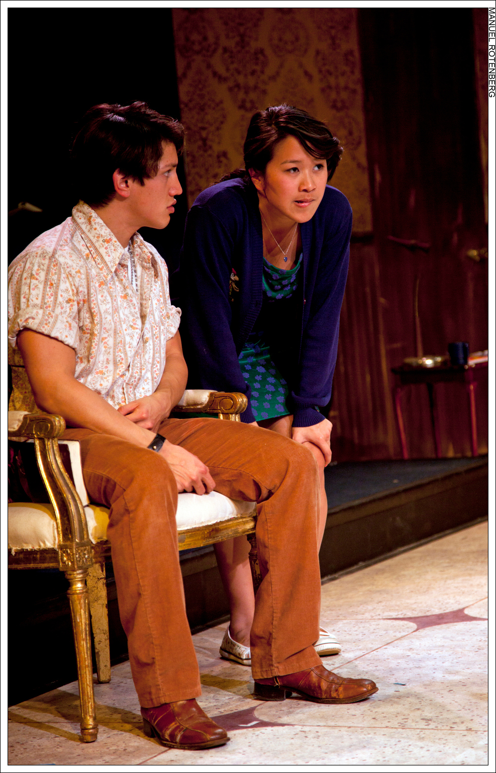 Katharine Chin as Girl - The Hot L Baltimore (2011)